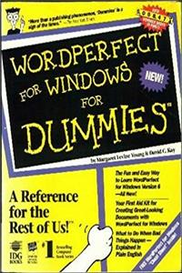 Wordperfect for Windows for Dummies (For Dummies Computer Book)