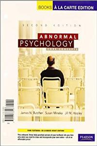 Abnormal Psychology: Core Concepts, Books a la Carte Plus MyLab Psychology -- Access Card Package (2nd Edition)