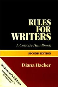Download Rules for writers: A concise handbook epub book