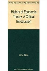 History of Economic Theory: A Critical Introduction